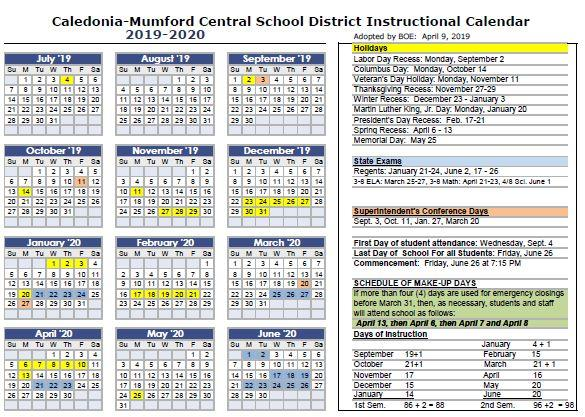 2014-2019 School Calendar Calendars / Home